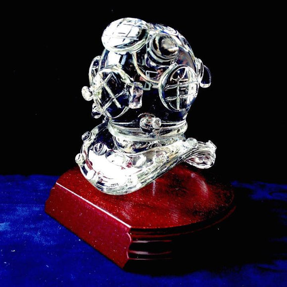 US Navy MkV Diving Helmet Paperweight - Beneath the Sea