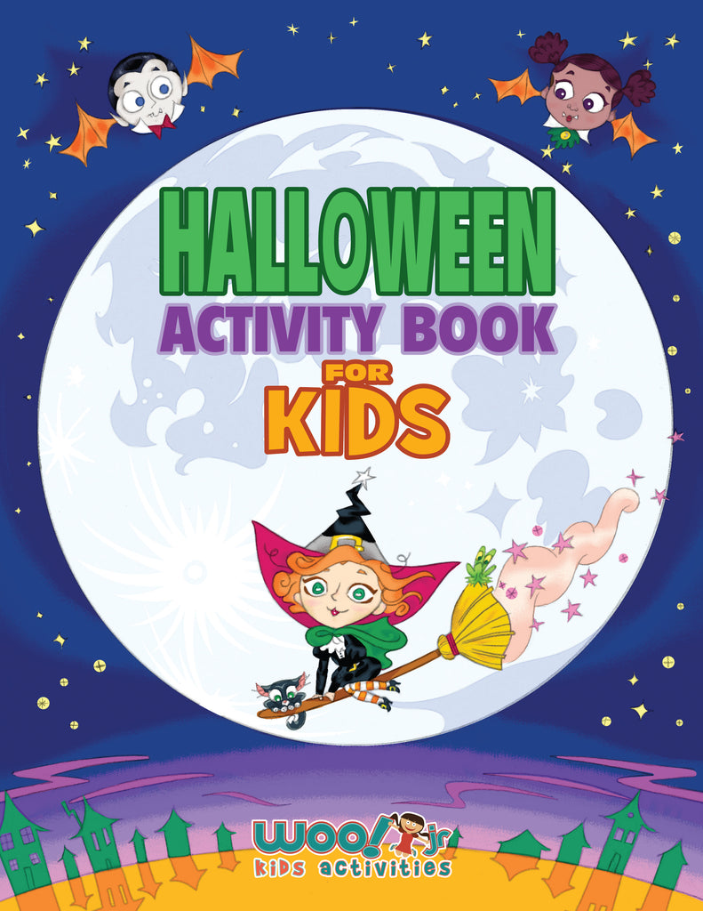 Halloween Printable Activities for Kids