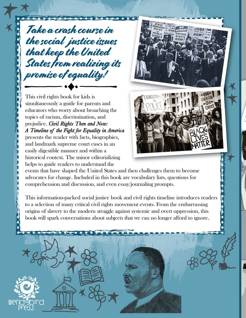 Civil Rights Then and Now: A Timeline of the Fight for Equality in America - Woo! Jr. Kids Activities