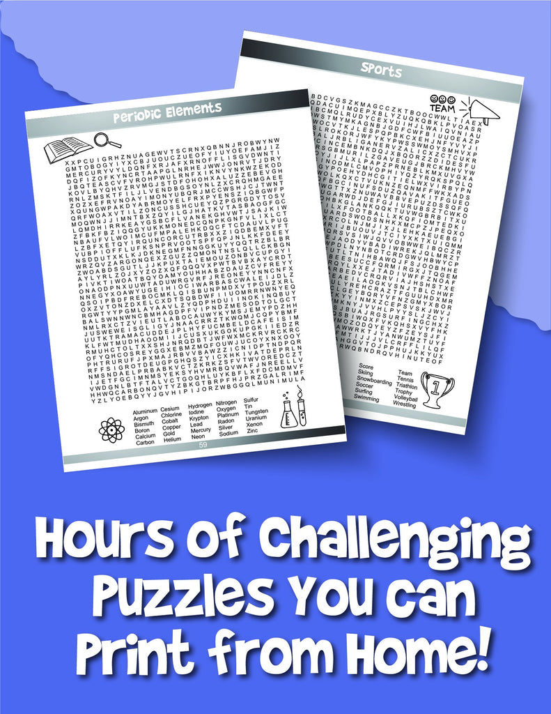 Expert Word Search for Kids: Reproducible Worksheets for Classroom and Homeschool Use - Woo! Jr. Kids Activities