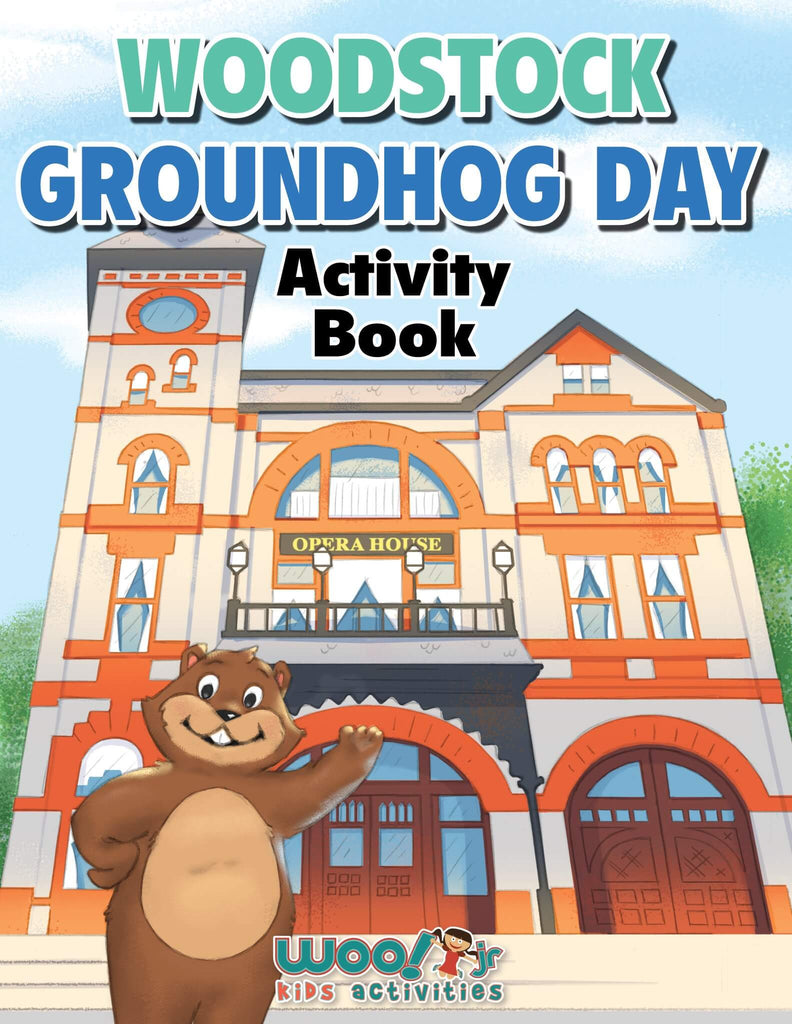 Woodstock Groundhog Day Activity Book - Woo! Jr. Kids Activities