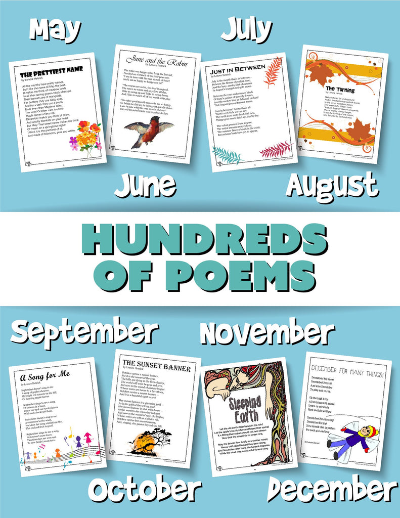 Printable Kids Poems PDF Bundle - Woo! Jr. Kids Activities