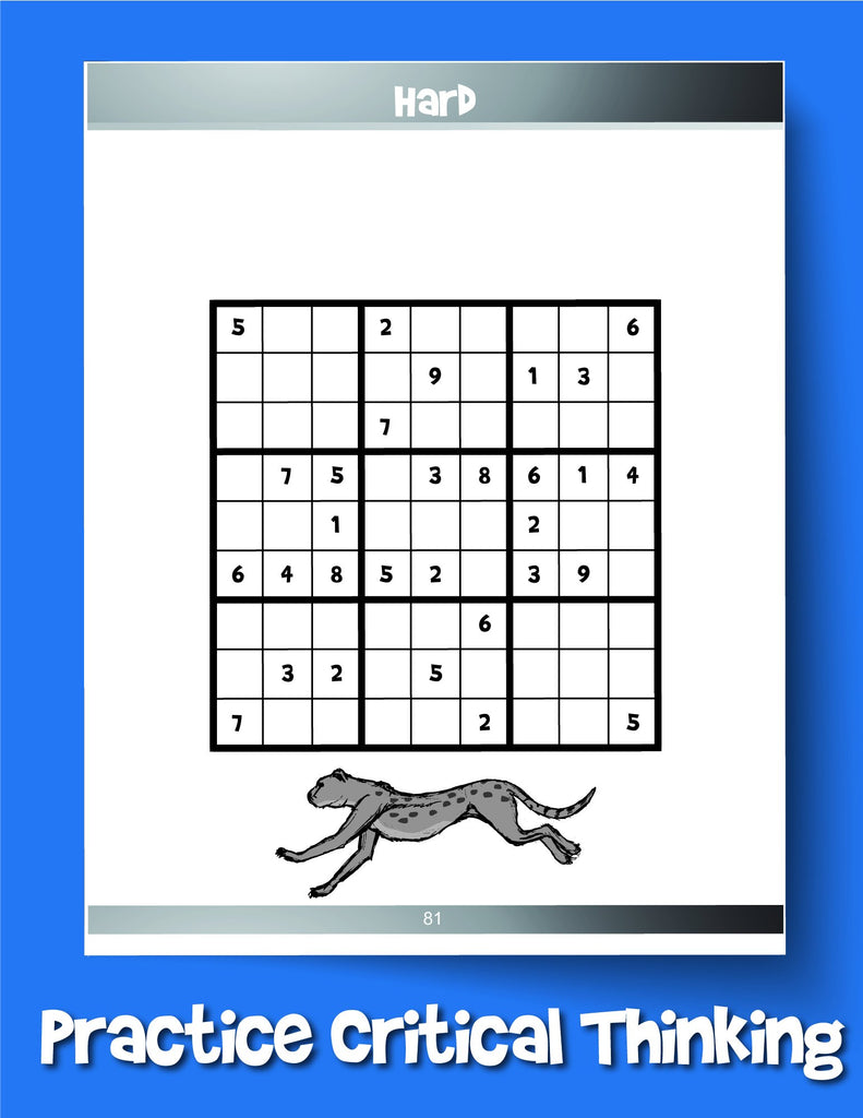 Sudoku for Kids: 100+ Sudoku Puzzles From Beginner to Advanced - Woo! Jr. Kids Activities
