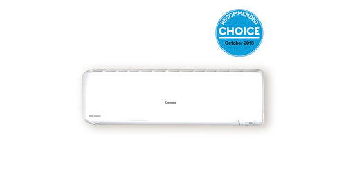 Bronte® Series 7.1kW MHIAA Air-conditioner SRK71ZRA-W with a Standard Install