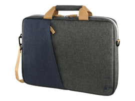 HAMA Florence Notebook Bag up to 40cm  black/grey