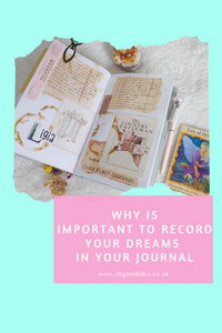 Do you normally journal about your dreams?