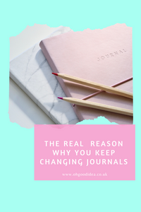 The real  reason why you keep changing Journals without finishing them...