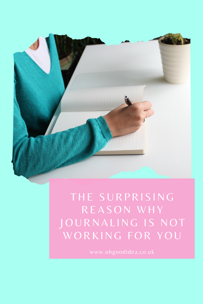 The surprising reason why Journaling is not working for you