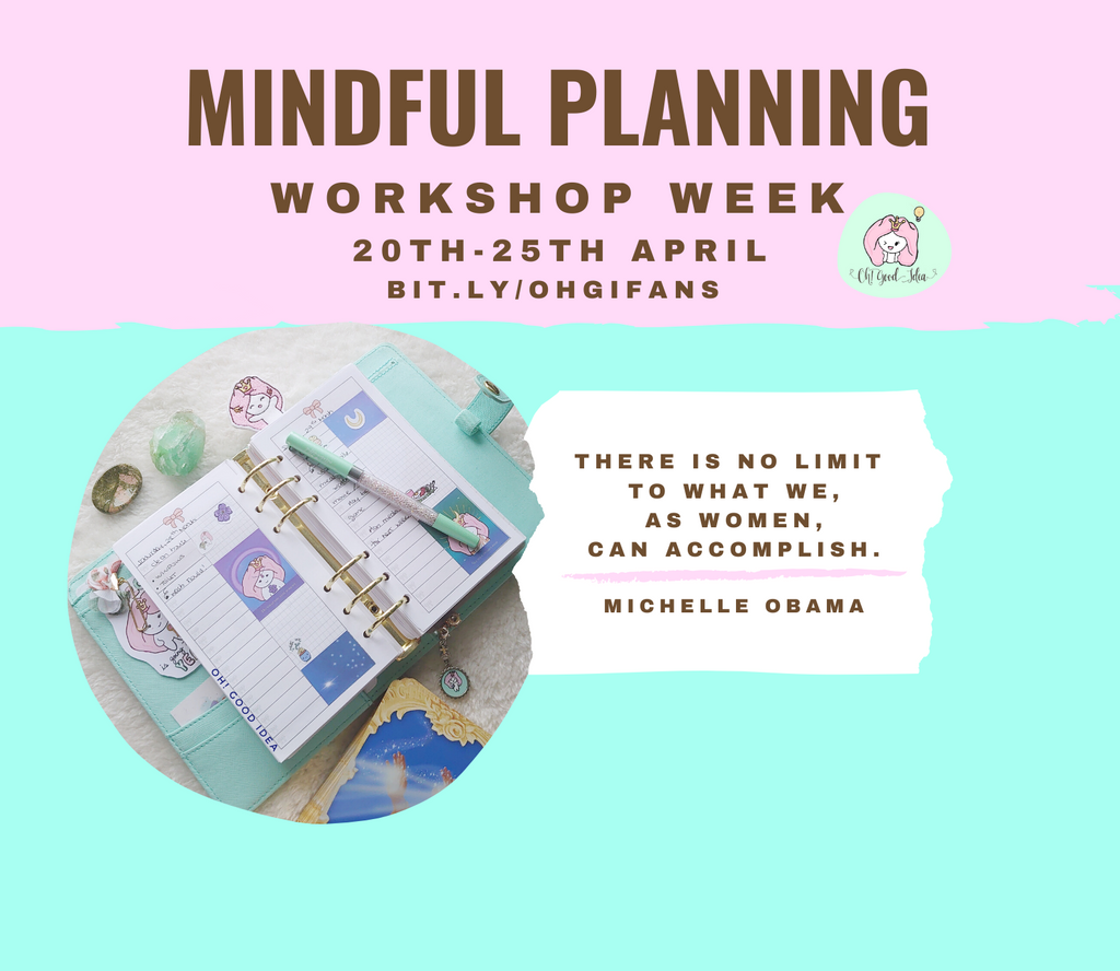 Mindful Planning Workshop Week
