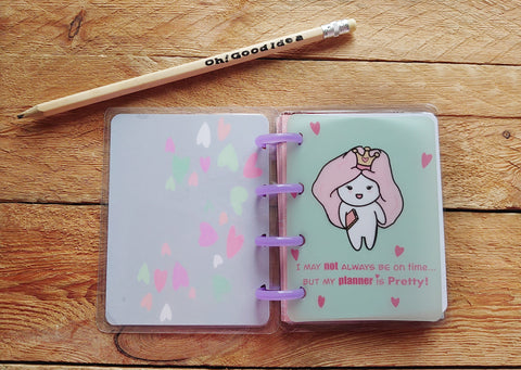 Oh! Good Idea Teedy planner accessories, planner vellum dashboards, vellum papers, hand drawn stationery for planners