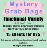 Oh! Good Idea, Mystery Grab Bags, Perfect Sticker BundlePlanner Stickers and Stationery