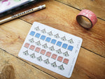 Oh! Good Idea planner stickers, Bible, Church, Christian Stickers, Bible Study, Bible Journaling, hand drawn stickers for planners
