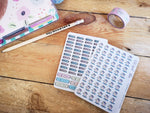 Oh! Good Idea planner stickers, playgroup, play date, daycare stickers, hand drawn stickers for planners
