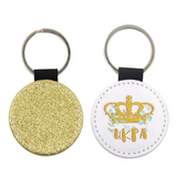 UKPA The Big Meet 2020 Golden glitter Keyring