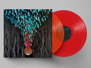 Bright Eyes 'Down In The Weed Where The World Once Was' RED/ORANGE DOUBLE VINYL