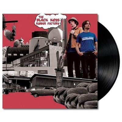 Black Keys, The 'Rubber Factory' VINYL