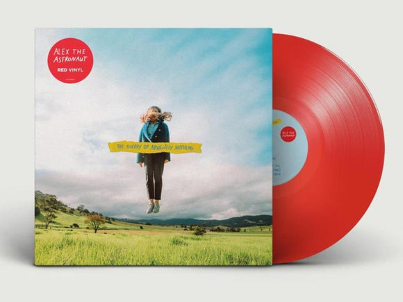 Alex The Astronaut 'The Theory Of Absolutely Nothing' RED VINYL