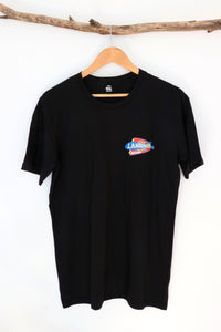 Landspeed Black Front & Back Logo Shirt