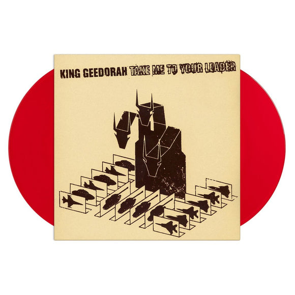 King Geedorah 'Take Me To Your Leader' RED DOUBLE VINYL