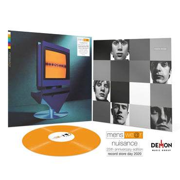 Menswear 'Nuisance - 25th Anniversary Edition' ORANGE VINYL