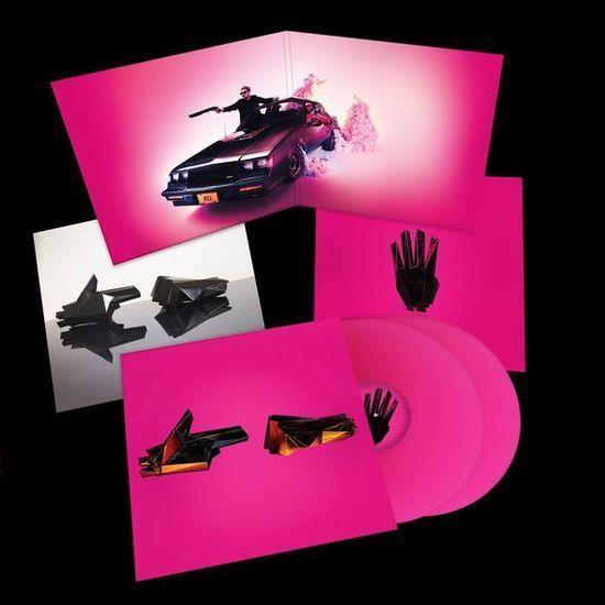 Run The Jewels 'Run The Jewels 4 ' MAGENTA DOUBLE VINYL