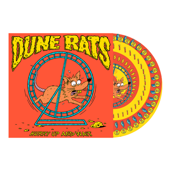 Dune Rats 'Hurry Up And Wait' PICTURE DISC VINYL