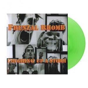 Frenzal Rhomb 'Coughing Up A Storm' CONES GREEN VINYL