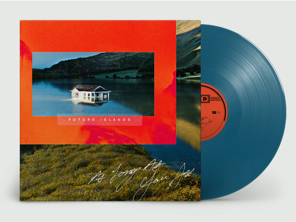 Future Islands 'As Long As You Are' PETROL BLUE VINYL