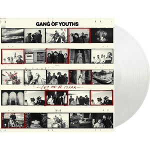 Gang Of Youths 'The Positions' ORANGE DOUBLE VINYL