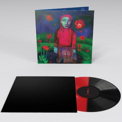 Girl In Red 'If I Could Make It Go Quiet' RED/BLACK SPLIT VINYL