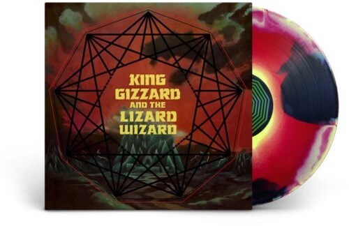 King Gizzard & The Lizard Wizard 'Nonagon Infinity' RED/YELLOW/BLACK VINYL