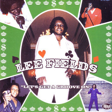 Fields, Lee 'Let's Get A Groove On' GREEN SPLATTER VINYL