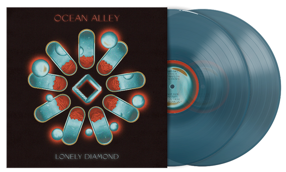 Ocean Alley 'Lonely Diamond' DOUBLE BLUE VINYL