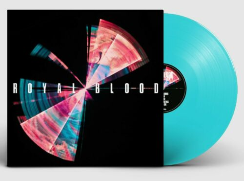 Royal Blood 'Typhoons' TRANSLUCENT BLUE VINYL