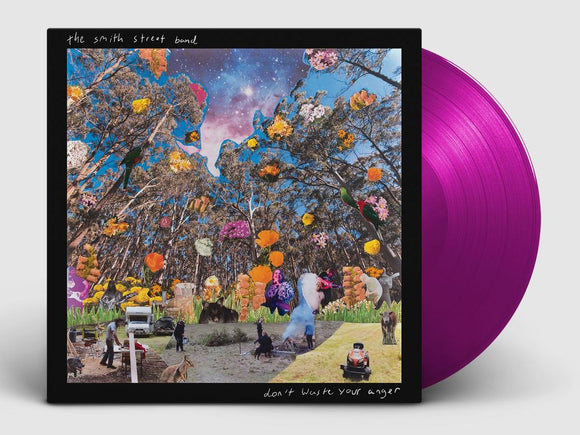 Smith Street Band, The 'Don't Waste Your Anger' (Indie Exclusive) NEON VIOLET VINYL Expected Late June