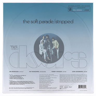 Doors, The 'The Soft Parade: Stripped' CLEAR VINYL
