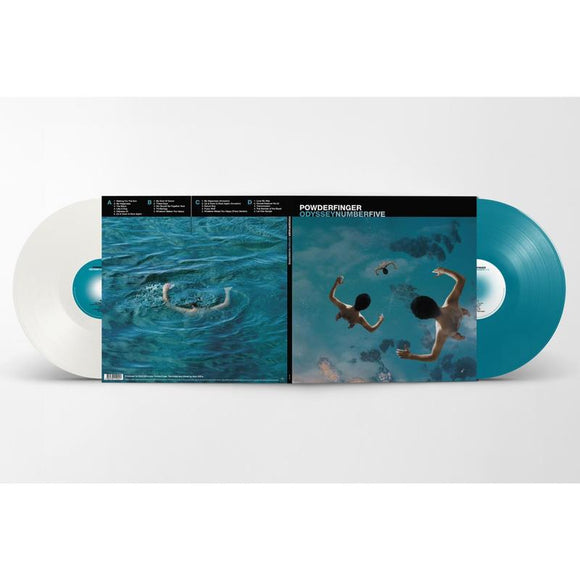 Powderfinger 'Odyssey Number Five' DOUBLE COLOURED VINYL - Pre-Order Out 4/9/20
