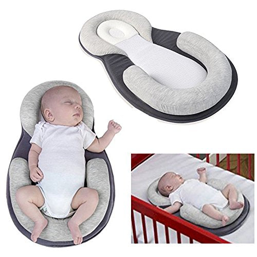 gmhvf Baby Stereotypes Pillow Infant Newborn Anti-Rollover Mattress Pillow for 0-12 Months Baby Sleeping Positioning Pad Cotton Pillow