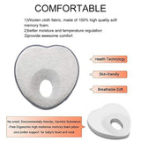 Noobay Newborn Head Shaping Pillow - Preventing Flat Head Baby Pillow (0-12 Months)