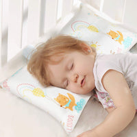 Toddler Pillow with Pillowcase Kids Pillow for Sleeping Evolon Microfiber Perfect for Baby Bed & Travel by YOOFOSS