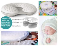 Breathe-Thru Baby Head Shaping Pillow (Newborn, Age 0-3 Months, Head Circumference 13-17 Inches)