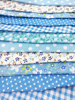 LOVENJOY 100% Cotton Bunting for Shabby Chic Wedding Baby Boy Shower Celebration - Large Size