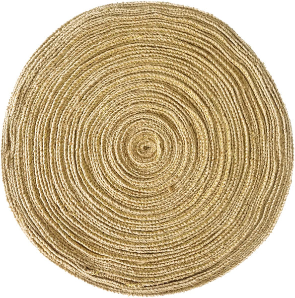 1.5 Inch Burlap Ribbon by the Roll. 50 Yards Jute Spool by Drency Ribbons