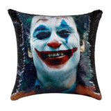 Joker Heath Ledger Pillow Cover ChristmasPillow Case Designer Throw Decorative Throw Accent Pillow Art Pillow Movie Throw Pillow