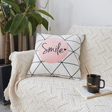 iDouillet Modern Decorative Accent Throw Pillow Case for Sofa Bed Car Fall Seat Back Cushion Cover Square 45x45cm / 30x50cm