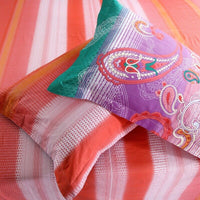 Orange Sun Bed Linen set