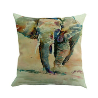Beach Scenery Cotton Linen Throw Pillow Covers Pillowcases Cushion Covers Decor