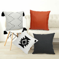 Boho MudCloth Inspired African Decorative Accent Pillow Cover Case Cushion Home