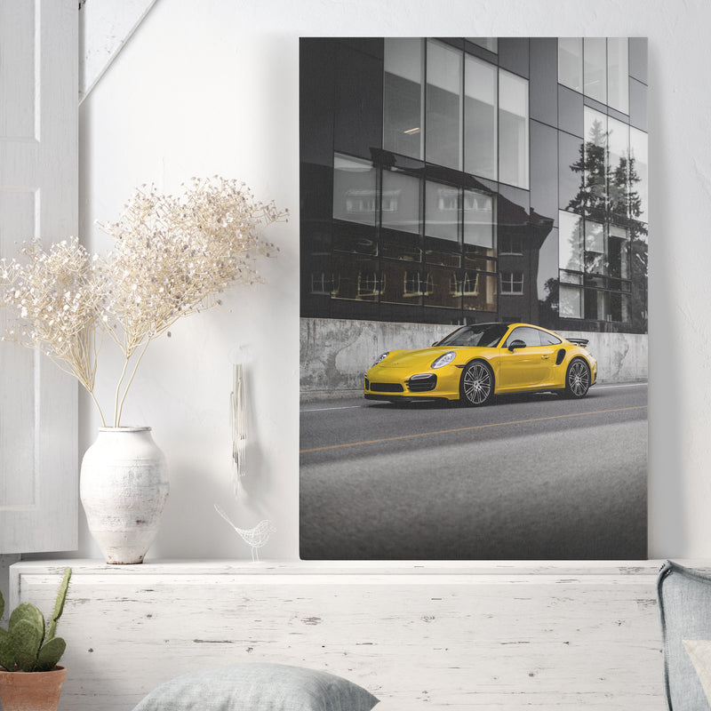 Yellow Porsche II