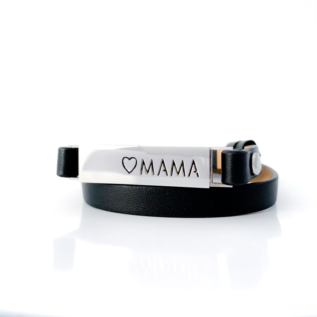 Mama Locket Essential Oil Wrap Bracelet